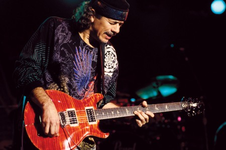 Carlos Santana is unlike any other musician on the planet
