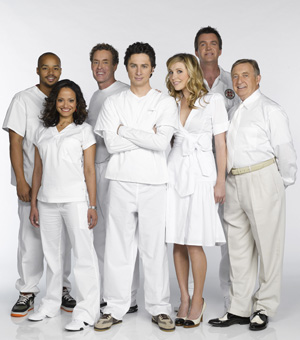 The Scrubs cast scrubs in for an eighth season