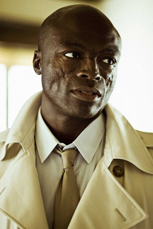 Seal, looking as sharp as ever