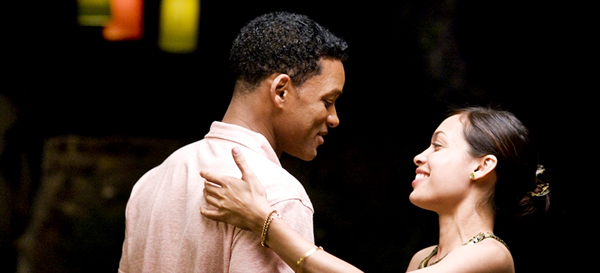 Will and Rosario go dancing in Seven Pounds