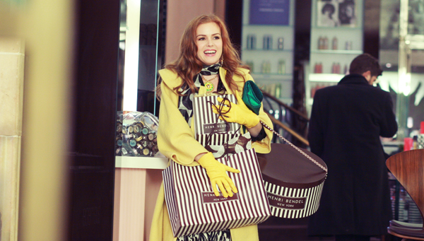 Isla Fisher stars in Confessions of a Shopaholic