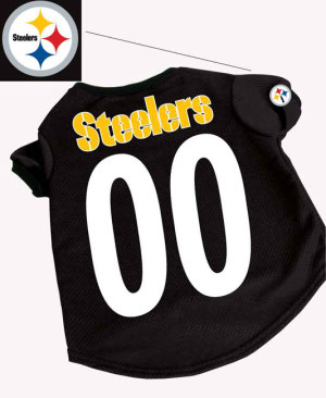 Dog football jersey