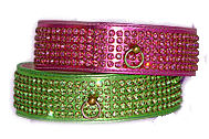 Swarovski crystal dog collar