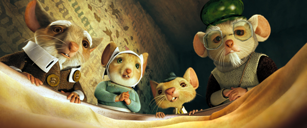The family awaits in The Tale of Despereaux