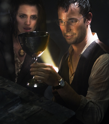 Noah Wyle returns as The Librarian