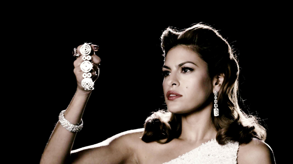 Eva Mendes gets The Spirit