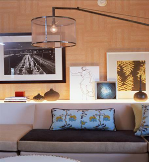 Rooms with lots of Color in 2009 and hone in on items, not trends