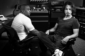 Timbaland and Chris Cornell hard at work on Scream