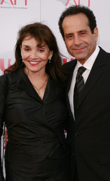 Tony Shalhoub and his wife, actress Brooke Adams