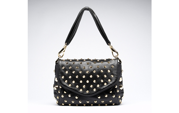 studded shoulderbag