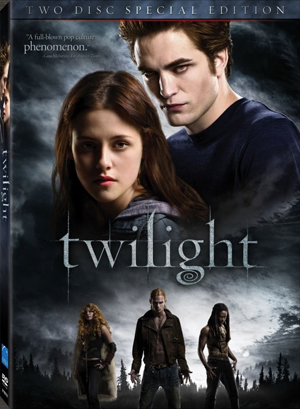 Twilight DVD lands in stores at midnight
