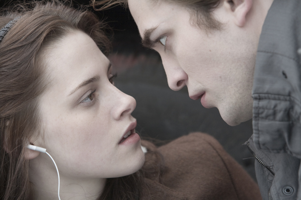 Edward saves Bella, launching a love story