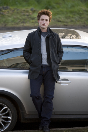 Robert Pattison as Edward in Twilight