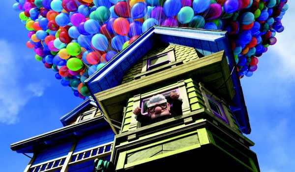 disney pixar up house. Going Up?
