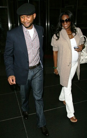 Usher and his ex in happier days