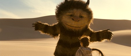 Max and Carol, BFFs in Where the Wild Things Are