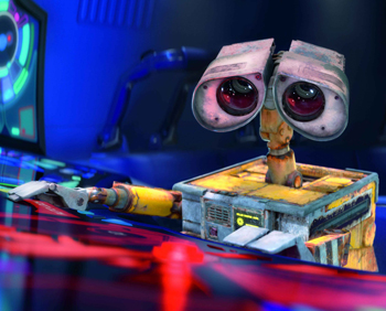 Wall-E works his magic and Pixar spins an Oscar win