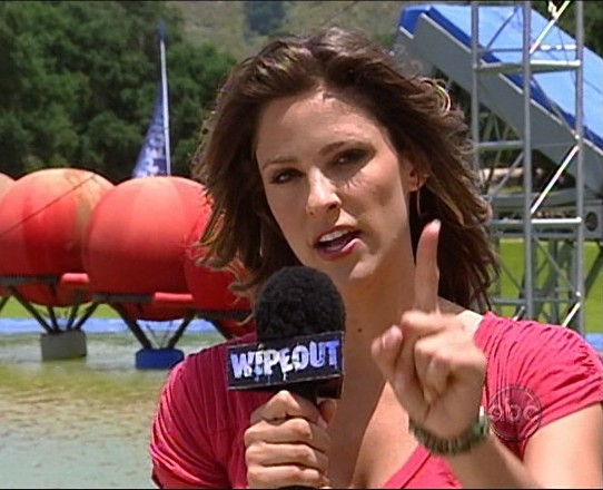 Wipeout Hostess Wipeout's Jill Wagner ...