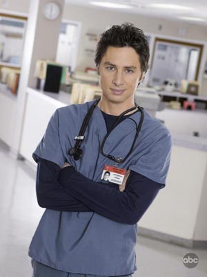 Zach Braff and Scrubs moves to ABC