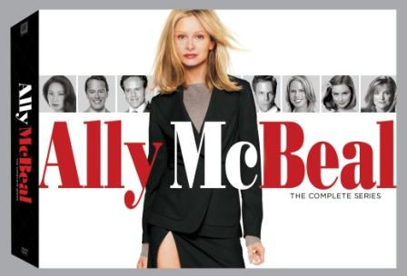 Ally McBeal: the complete series is out now on DVD