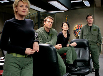 Amanda Tapping on Stargate SG-1