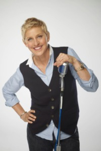 Ellen DeGeneres is ready to sing