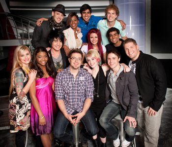 Your American Idol top 13
