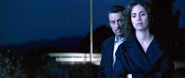 Robert De Niro and Amy Brenneman in Heat