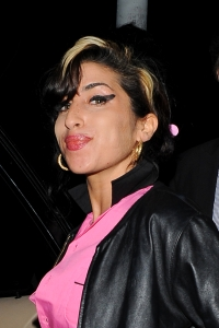 Amy Winehouse before her arrest