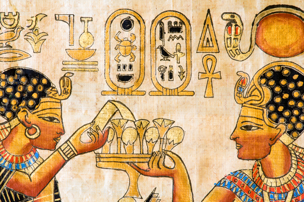 Ancient Egyptians also shaved and waxed! (image: sheknows.com)