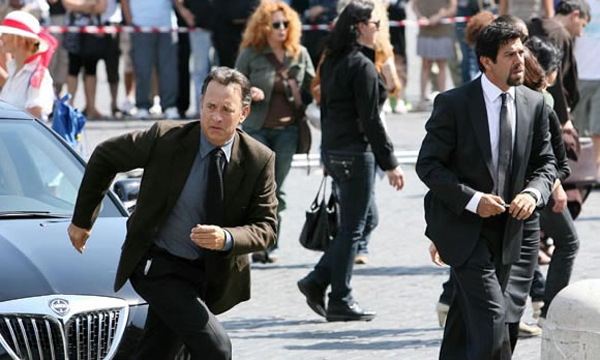 Tom Hanks and Angels and Demons are number one