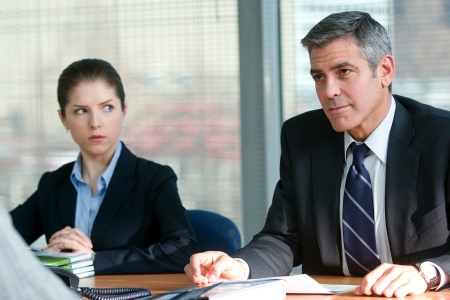 Anna Kendrick and George Clooney in Oscar fave Up in the Air