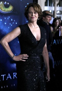 Sigourney Weaver sizzles at the Avatar premiere in LA