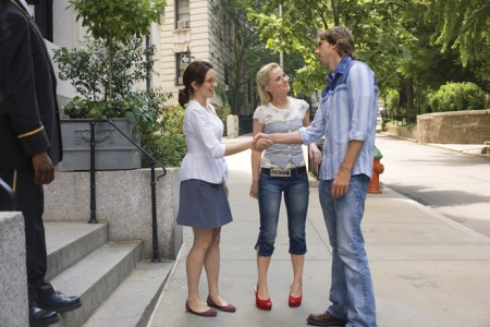 Dax Shepard, Tina Fey and Amy Poehler in Baby Mama