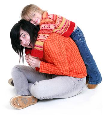 Babbysitter and Toddler