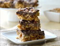 Bacon maple crunch bars recipe