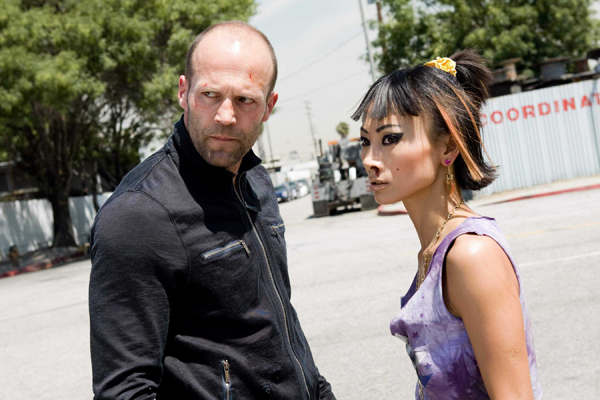 Jason Stratham and Bai Ling in Crank: High Voltage