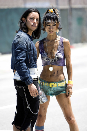Bai Ling is ready for action in Crank: High Voltage