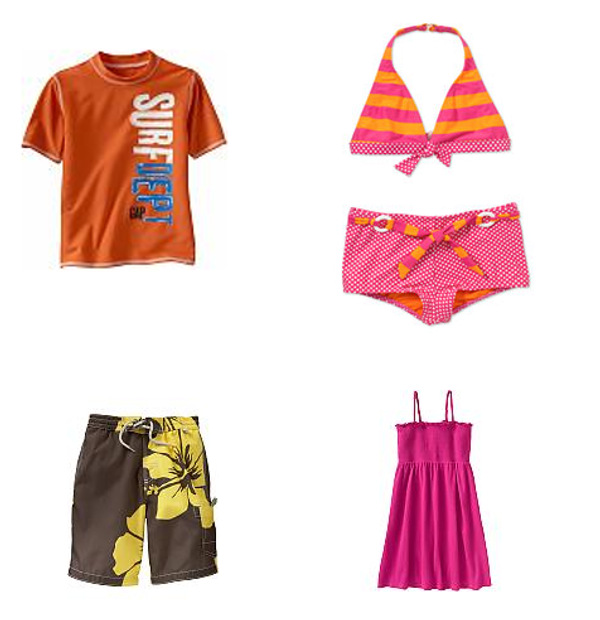 fun and affordable kids� beach wear