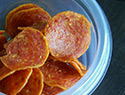 Beef jerky and other foods that decided to become potato chips