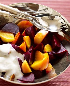 Beet Salad with Yogurt Dressing