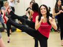 Bethenny Frankel works out in heels, talks fitness