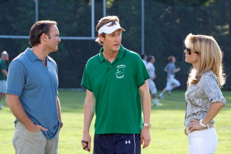 Tim McGraw plays Sandra Bullock's husband in The Blind Side
