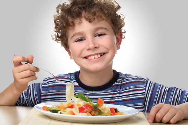 How to raise healthy vegetarian children