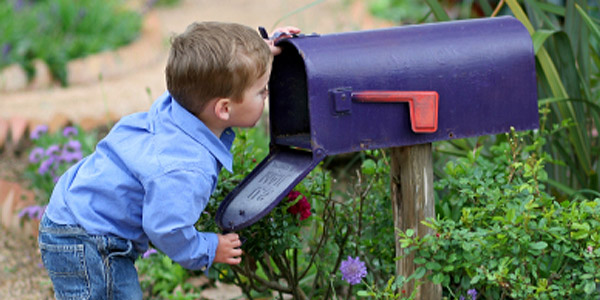 Checking the mailbox
