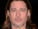 Brad Pitt surprises fans at a New Jersey screening
