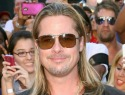 Brad Pitt's pits are starting to stink due to the lack of soap