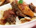 Tomato-braised short rib recipe