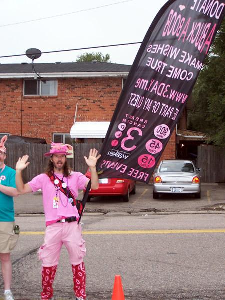 walk day breast three cancer