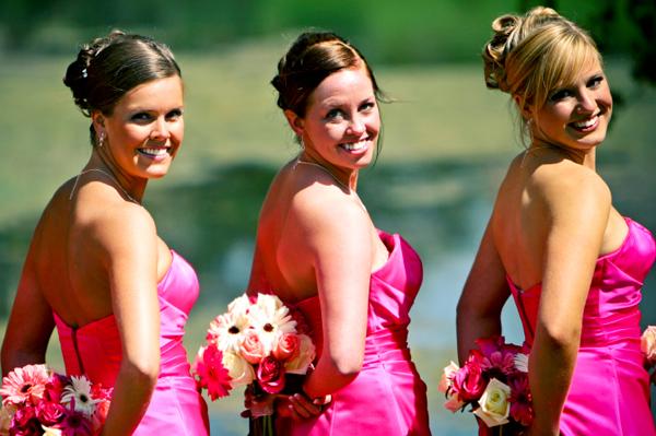 Wedding day dos for bridesmaids